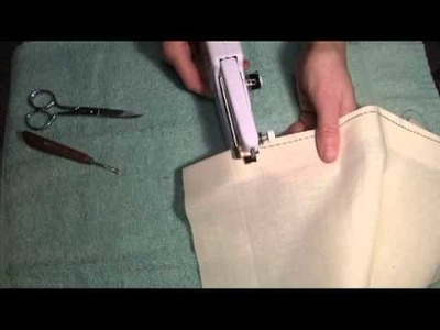 How to Use the Singer Handy Stitch - Part 4
