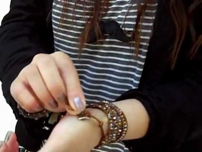 How To Wear Wrap Bracelet - Chan Luu