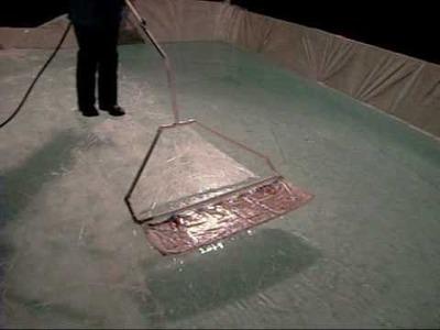 How to zamboni your backyard ice rink (homemade zamboni)