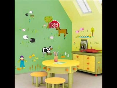 Kids wall stickers: Ideas for decorating a baby boy room