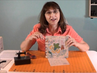 Lorine Mason Demonstrates how to use The Cutting EDGE Rulers