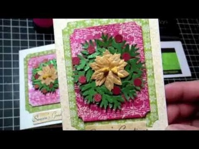 LSG: Christmas Wreath Card Tutorial