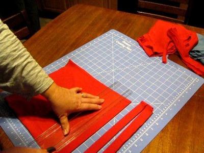 Making and Sewing T-Shirt Yarn rag rugs