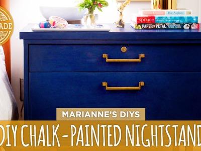 Marianne's Thrift Store Challenge: Chalk-Painted Dresser - HGTV Handmade