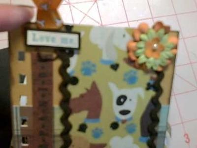 Mini Album - Puppy Love