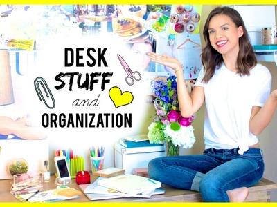 My Desk Essentials + Organization!