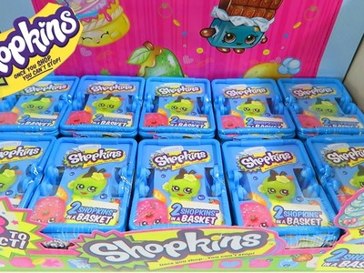 NEW Shopkins - Final 10 Blind Baskets Surprise Unwrapping Season 1 - 4 ULTRA Rare Shopkins Included!
