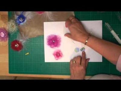 Organza Flowers (card-making-magic.com)