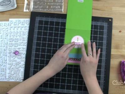 Peek a Boo Interactive Birthday Card