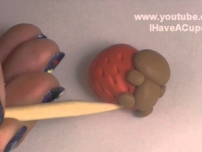 Polymer Clay Rilakkuma Strawberry