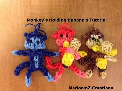 Rainbow Loom Monkey