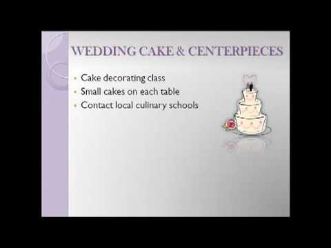 Secrets to Having a Beautiful Wedding on a Small Budget - Part 5