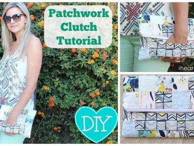 Simple Patchwork Clutch Tutorial