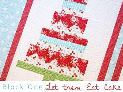 Snapshots Quilt Along Block One: Let them Eat Cake Pattern – Fat Quarter Shop