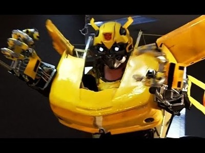 """Transforming Test 3"" Transforming Bumblebee Costume (episode 11)"
