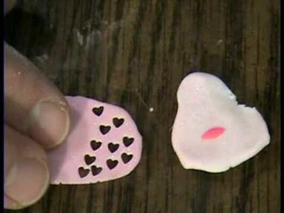 Valentine Hearts in Polymer Clay (How to make) by Garden of Imagination