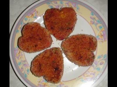 Vegetable Cutlets (Masala Burger Patties) Video Recipe by Bhavna