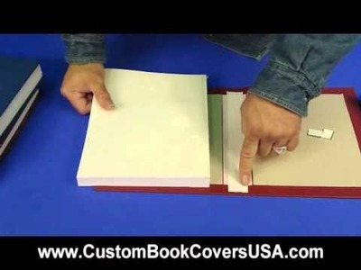 Video 7: Attaching Book Block to our Covers
