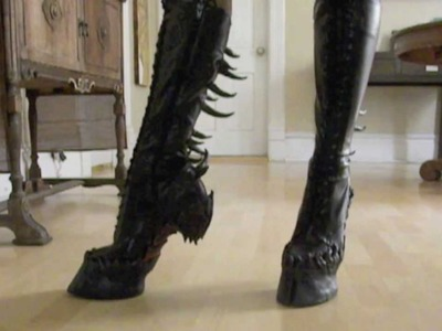 Walking in Hooves 2.0 by Oonacat ©2012 - Costume, Cosplay, Theatre