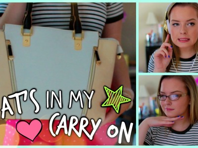 What's In My Carry On Bag?! My Traveling Essentials
