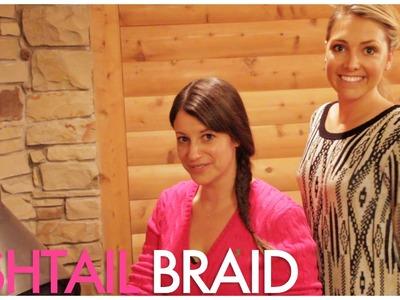 Whitney Port inspired Fishtail Braid Tutorial. with celebrity hair stylist Kylee Heath