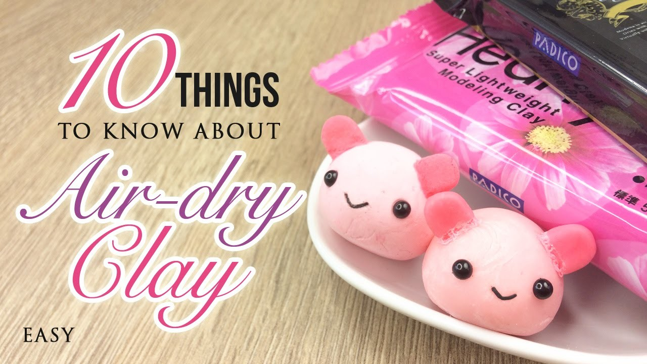 10 Things You Must Know About Air-dry Clay