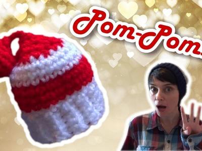 4 Ways to Make a Hat Tassel! - Pom Pom, Coil, Shooting Star & Ball Pom!