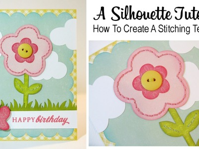 A Silhouette Tutorial: How To Create a Stitching Template