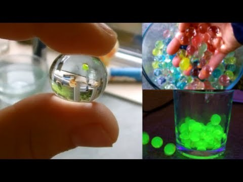 Amazing Polymer Spitballs