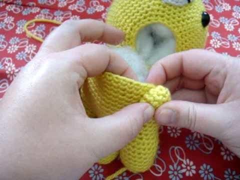 Amigurumi Lessons :: Attaching Limbs Pt 2