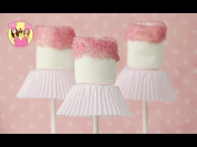 BALLERINA POPS - Ballet dancer party marshmallow pops - Easy and cute tutu treats
