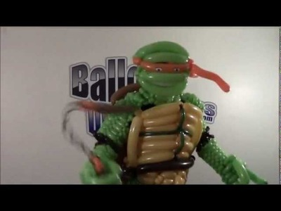 Balloon Turtle Costume with Balloon Distractions