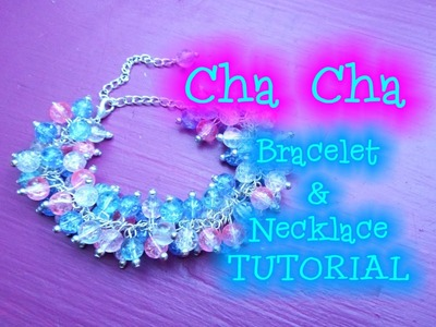 Cha Cha Bracelet and Necklace Tutorial | eclecticdesigns