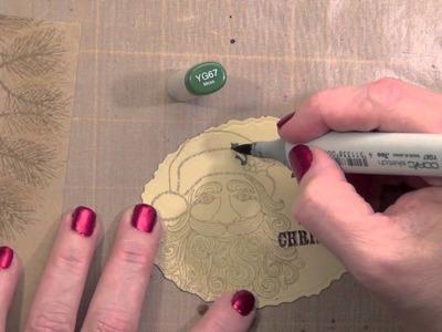 Christmas 2012: #10 Stamping Gear Santa Card