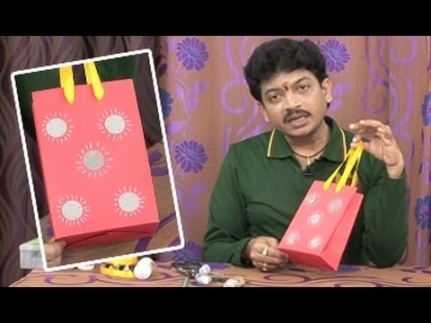 Creative Corner || How to Make Paper Bags || Colorful Paper Bags with Handles