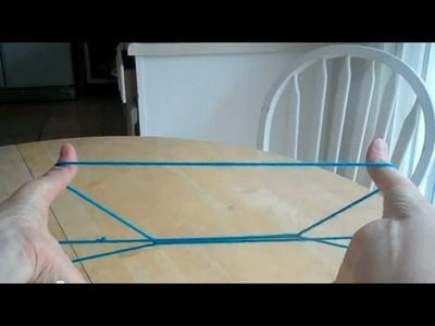 Cup and Saucer with string, step by step