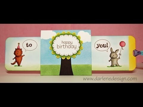 Double Slider Birthday Card!