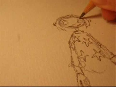 Drawing Coraline in 5 minutes!