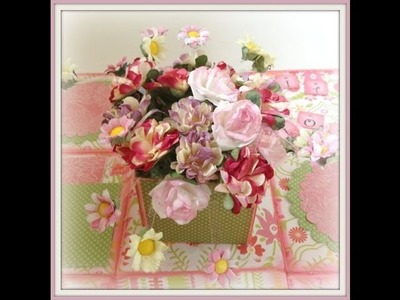 Exploding Box With Explosive Flowers Tutorial - Part 2