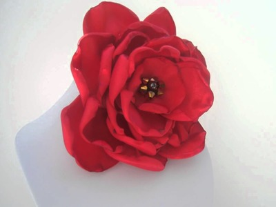 Fabric flowers, plumettes, corsage, brooch, hair accessory, fascinators