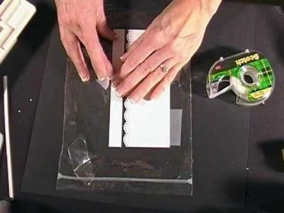 Fabulously Artsy -- Glitter 'n Tape Technique