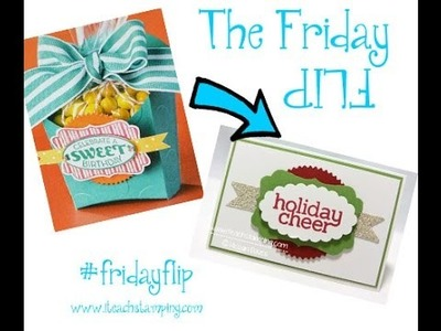 Friday Flip - How to Make A Gift Card Holder