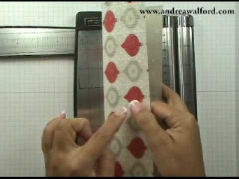 Friday Fun Folds Video: Top Note Envelope Gift Card Holder