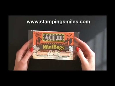 Handmade Halloween envelope with new background and Stampin' Up! Tricky Treats