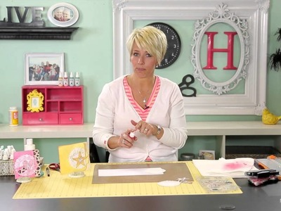 Heidi Swapp- Create to Remember: Doily Card