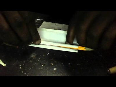 HOME MADE HOW TO ROLL A JOINT USEING PAPER AN PENCIL