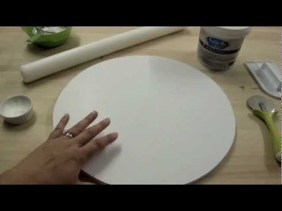 How To Cover A Cake Board With Fondant: The Krazy Kool Cakes Way!