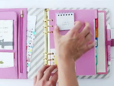 How to Customise your kikki.K Planner & Make it Oh So Cute