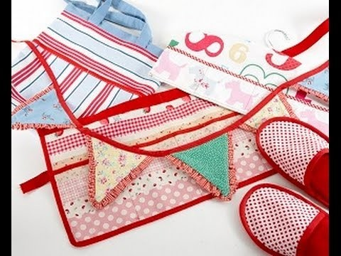 How to cut and apply bias binding by Debbie Shore