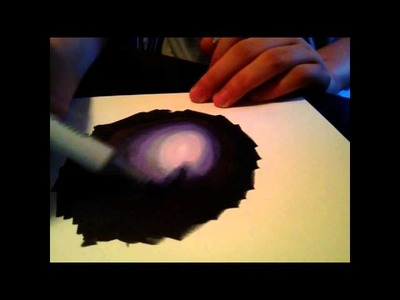 How to Draw Galaxies with copics!!!